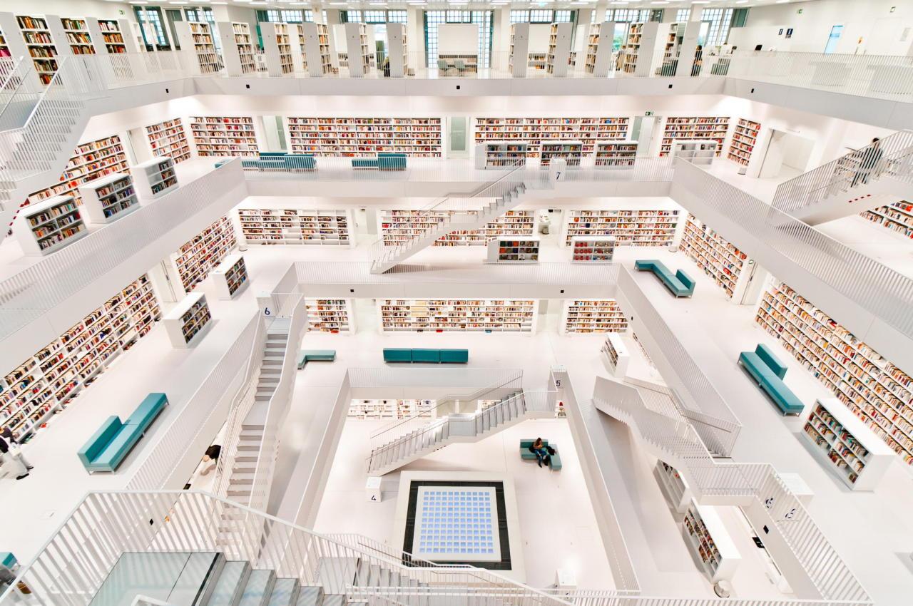creativehouses :     Stuttgart public library    via  reddit
