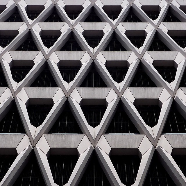 theimportanceofbeingmodernist :      Welbeck Street Car Park, London by Michael Blampied.    © 2014 Alex James Bruce     The Importance of Being Modernist :  Facebook  |  Twitter  |  Instagram
