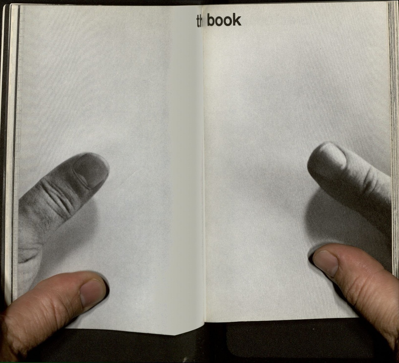 momalibrary :     Scan of an opening from Marshall McLuhan's   The Medium is the Massage   -ds