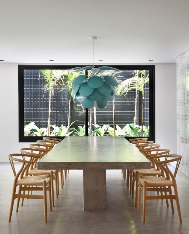 contemporist :     To see more photos, click here -  DM House by Studio Guilherme Torres    Source:  Contemporist.com