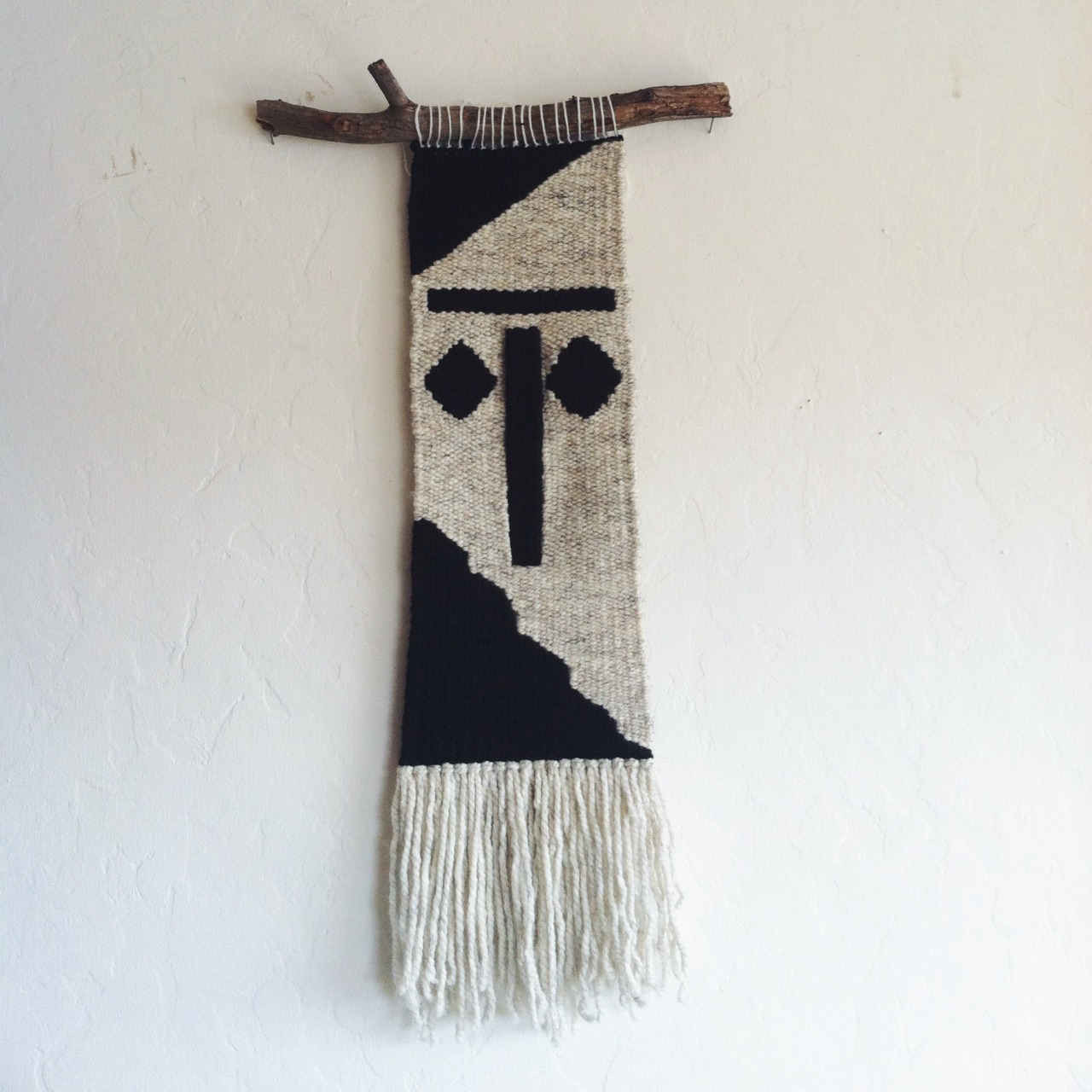 Weaving by Kara McMullen, in collaboration with Ryan Riss