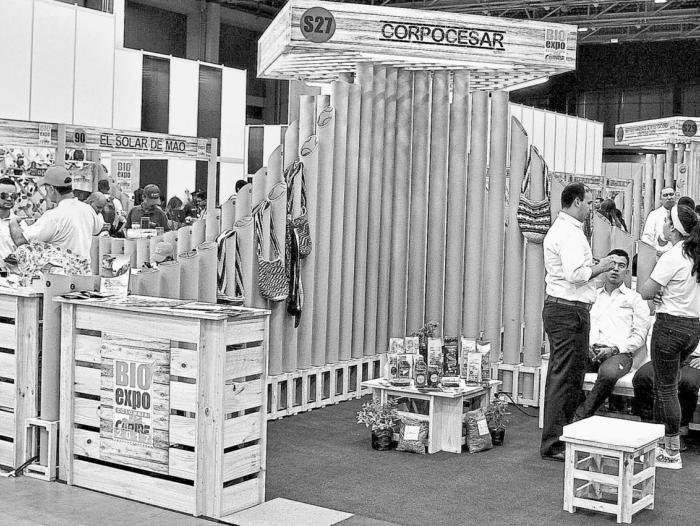 Ferias como Bioexpo, que se hizo el año pasado, promueven estos negocios.  ARCHIVO/CARLOS CAPELLA