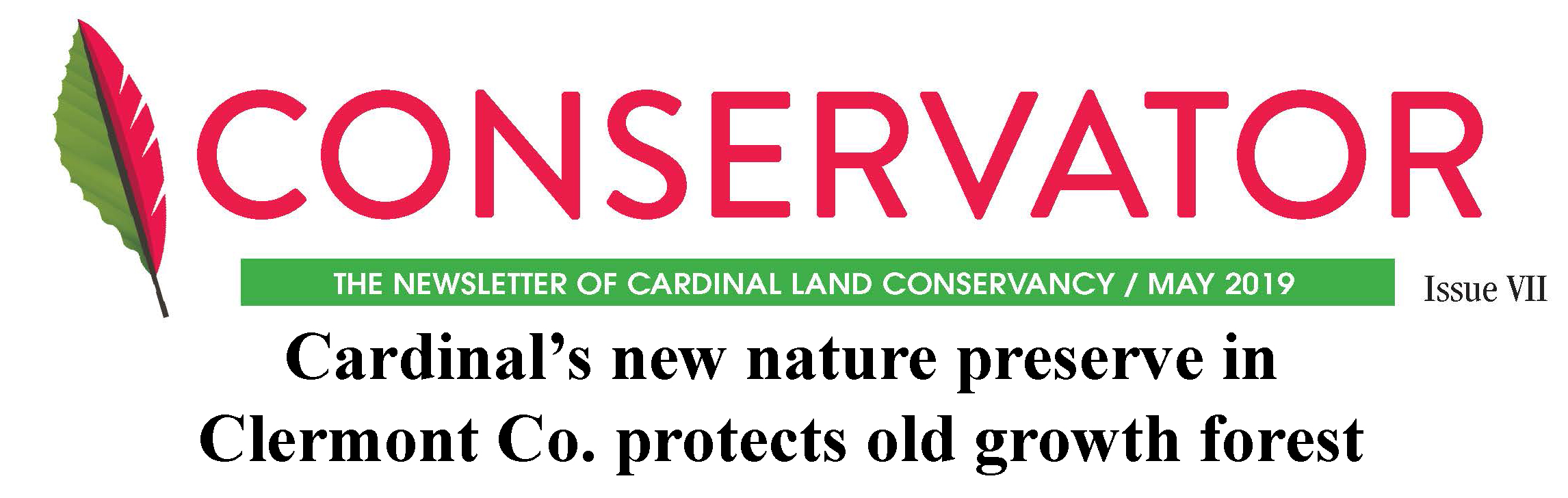 Click to download latest Conservator Newsletter