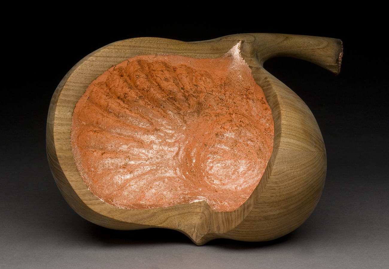Untitled (Wooden Vessel)