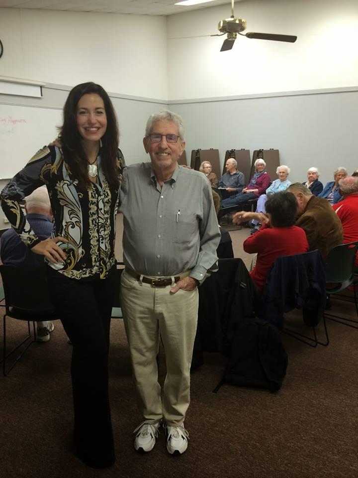 Dr Aymee Coget and Dr Bob Nozik -gurus of happiness!
