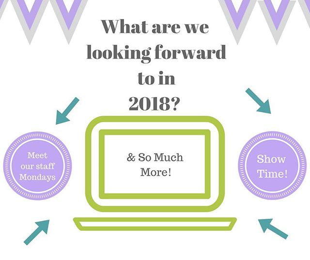 We are so excited about being able to connect more with our families in 2018! Social media is such a useful tool and we can't wait to show you what we have been working on. Have a great weekend everyone & enjoy ringing in the new year!