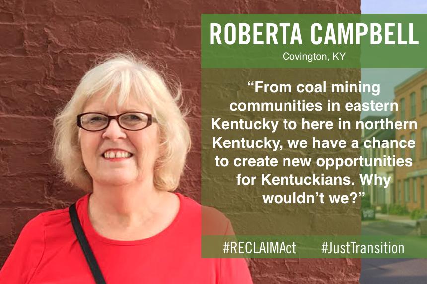 Roberta Campbell of Covington, KY