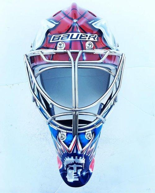 Royal Essex Custom Airbrushing and Goalie Masks