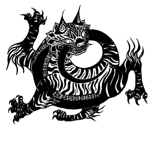 CAT; BRUSH PEN