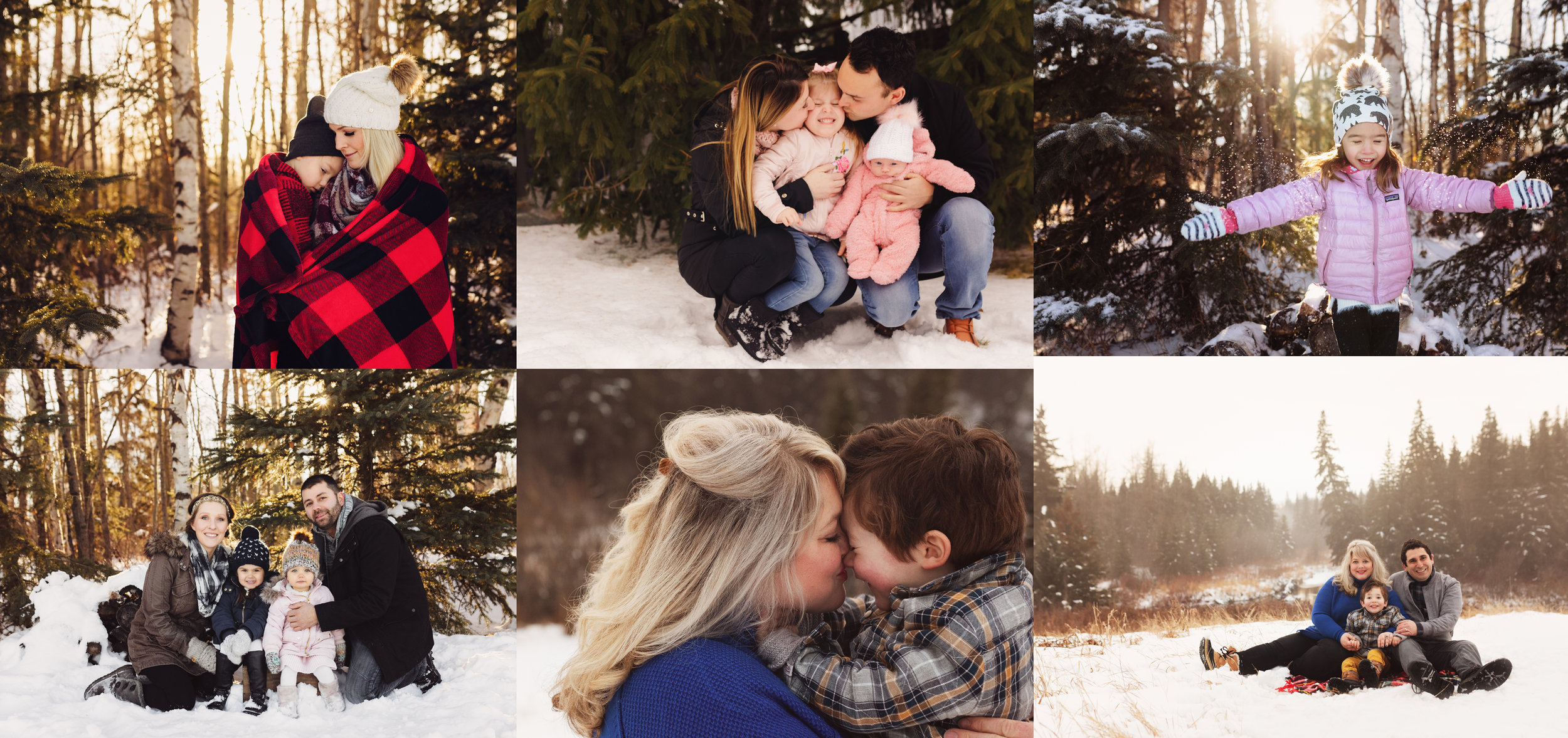 Winter Family Sessions