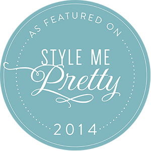 Twickenham House is featured on Style me Pretty