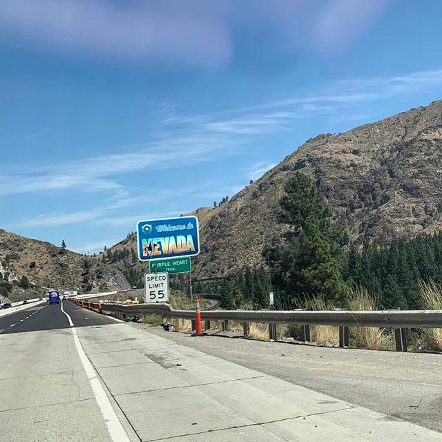 Starting the long drive East. See you soon (ish) @visitleadville @ltraceseries ! #leadville100mtb #headingeast