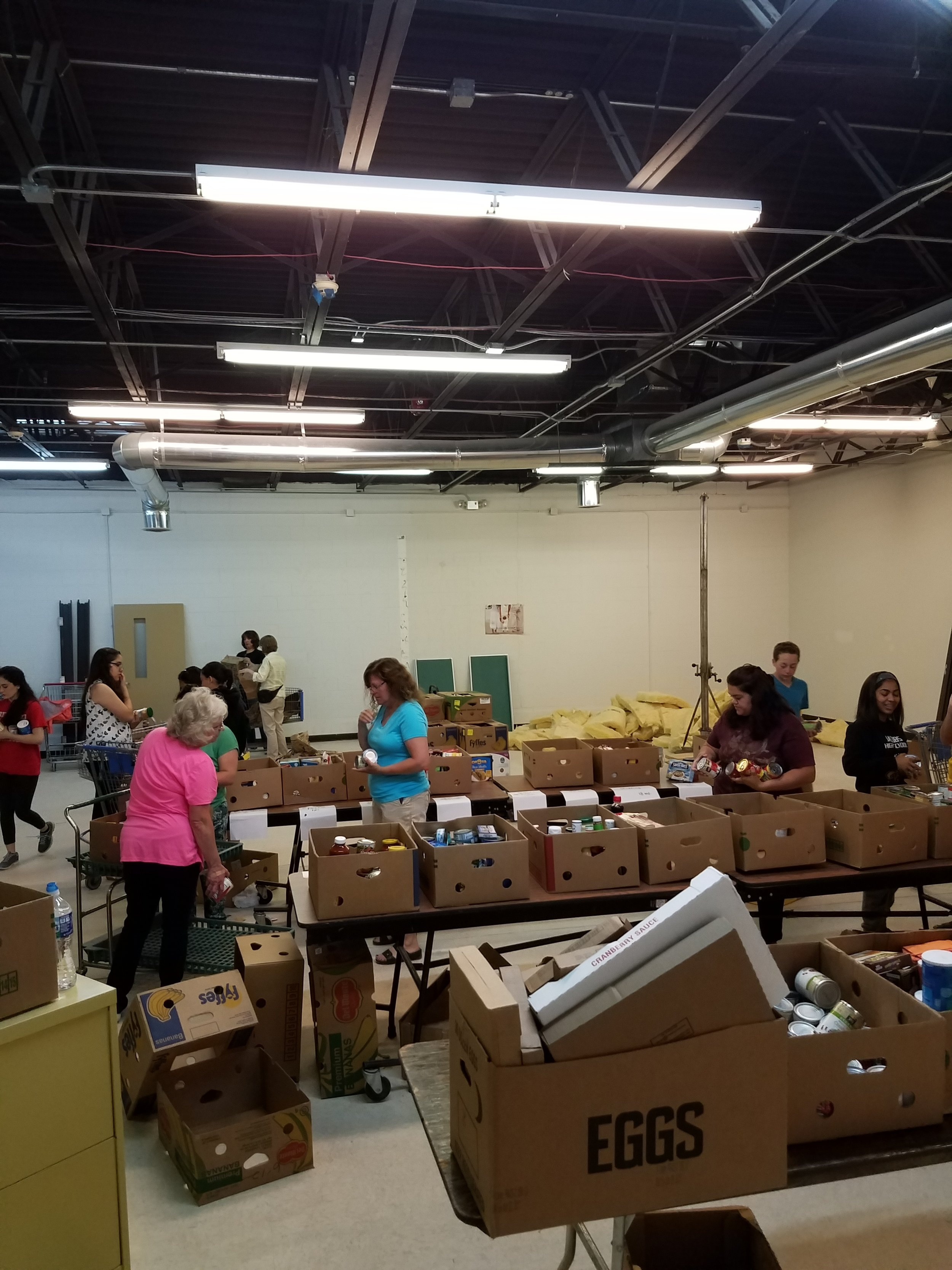 Volunteers answered the call for help at the FISH Food Pantry in Carpentersville recently!
