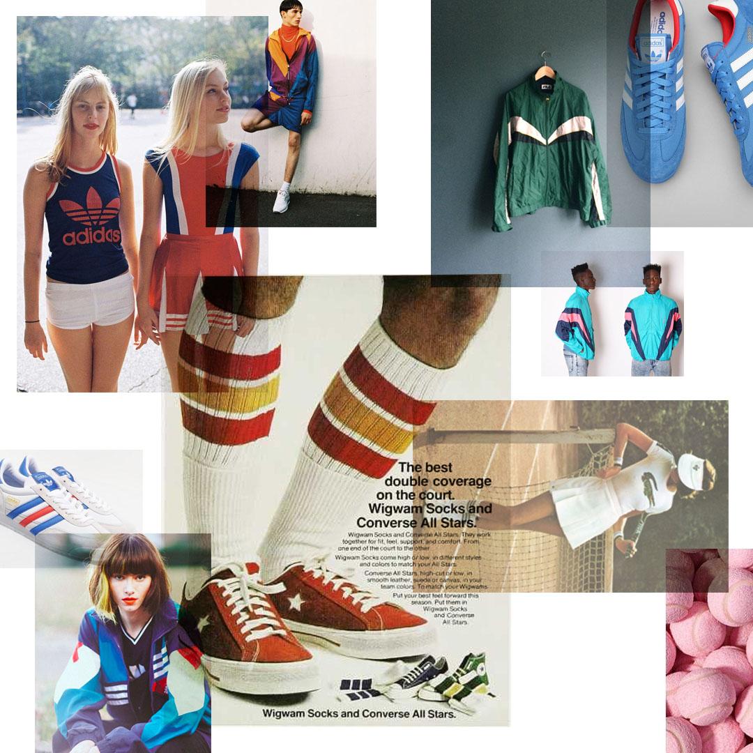 Concept Board 1: Sports Culture/Vintage Sports Fashion