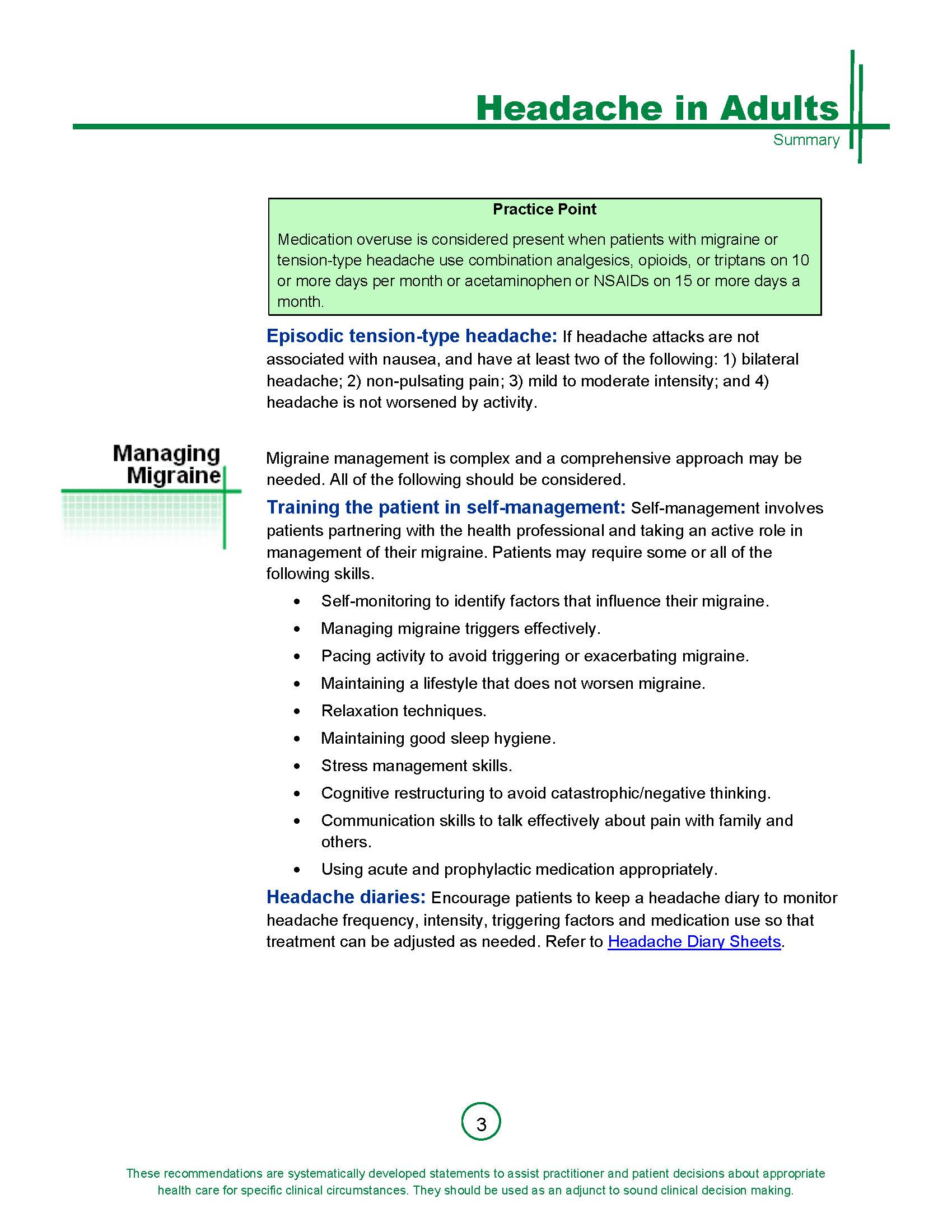 Summary Guideline for Management of Primary Headache in Adults_Page_3.jpg