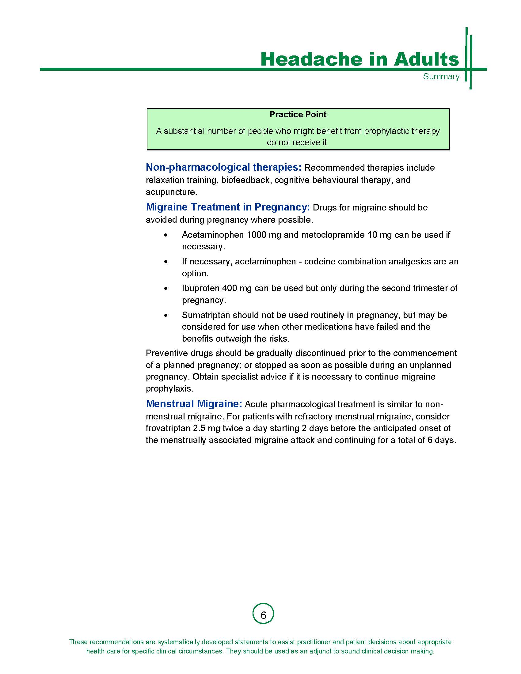 Summary Guideline for Management of Primary Headache in Adults_Page_6.jpg