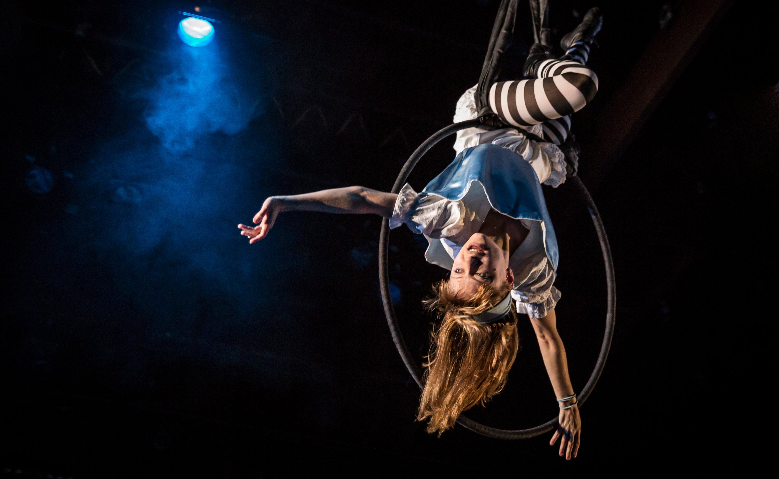 The one and only Lindsey Noel Whiting in the one and only  Lookingglass Alice.  Photographed by the one and only Liz Lauren.