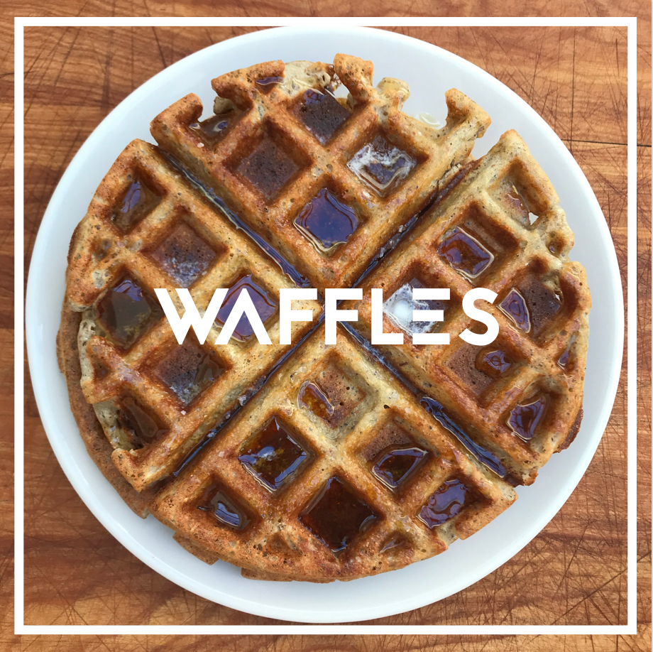 WAFFLES   Step into the dark side.