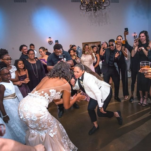 We're rolling into the weekend like our gorgeous brides, Ashia & Janell.  The amazing brides had a memorable dance-off during their Reception at Villa St. Clair! Unforgetable!!!⁠ .⁠ .⁠ .⁠ #letsroll #brides #happy #happiness #unforgettable #love #forever #ceremony #weddingphotography #weddinggown #weddingdress #danceoff #together  #weddingday #weddingplanner #weddingvenue #AustinWedding #TexasWedding #austin #atx  #lovewins #twobrides #twobridesaustin #twobridestexas #austinsamesexwedding #texassamesexwedding #2brides⁠ #austinweddingvenue #austinweddingplanner #austinweddingflorist