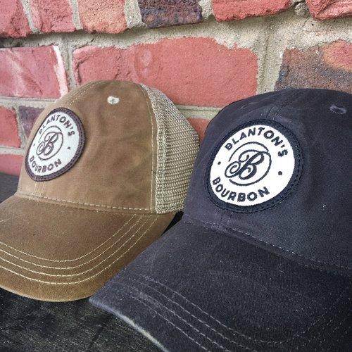 b3493fa0d Blanton's Bourbon Waxed Cotton Hat — Blanton's Bourbon Shop