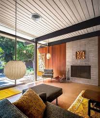 Example of a classic modern (midcentury) interior. Source: Pinterest.