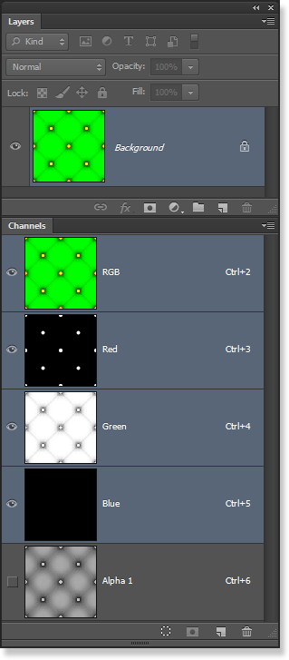 Pack Map Channels in Photoshop