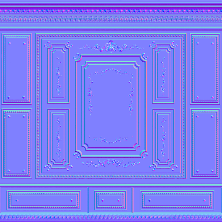 Ornate Wall Normal (PC/Mac) CLICK FOR FULL SIZE