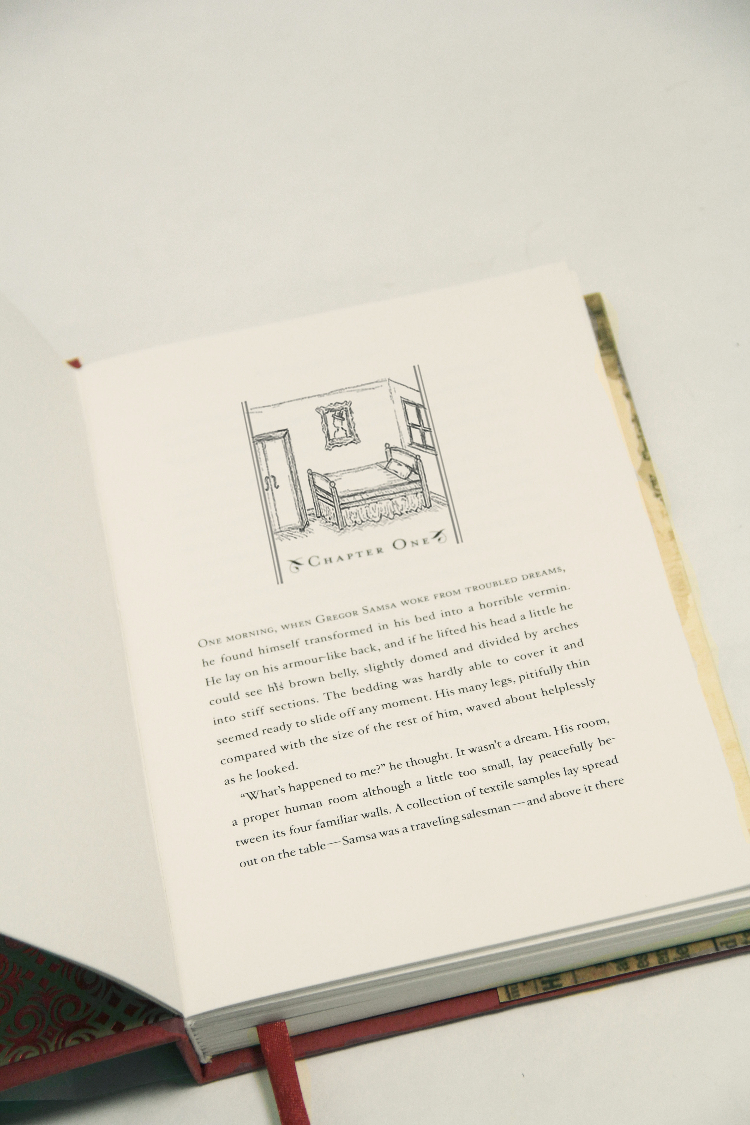 The Metamorphosis book chapter head