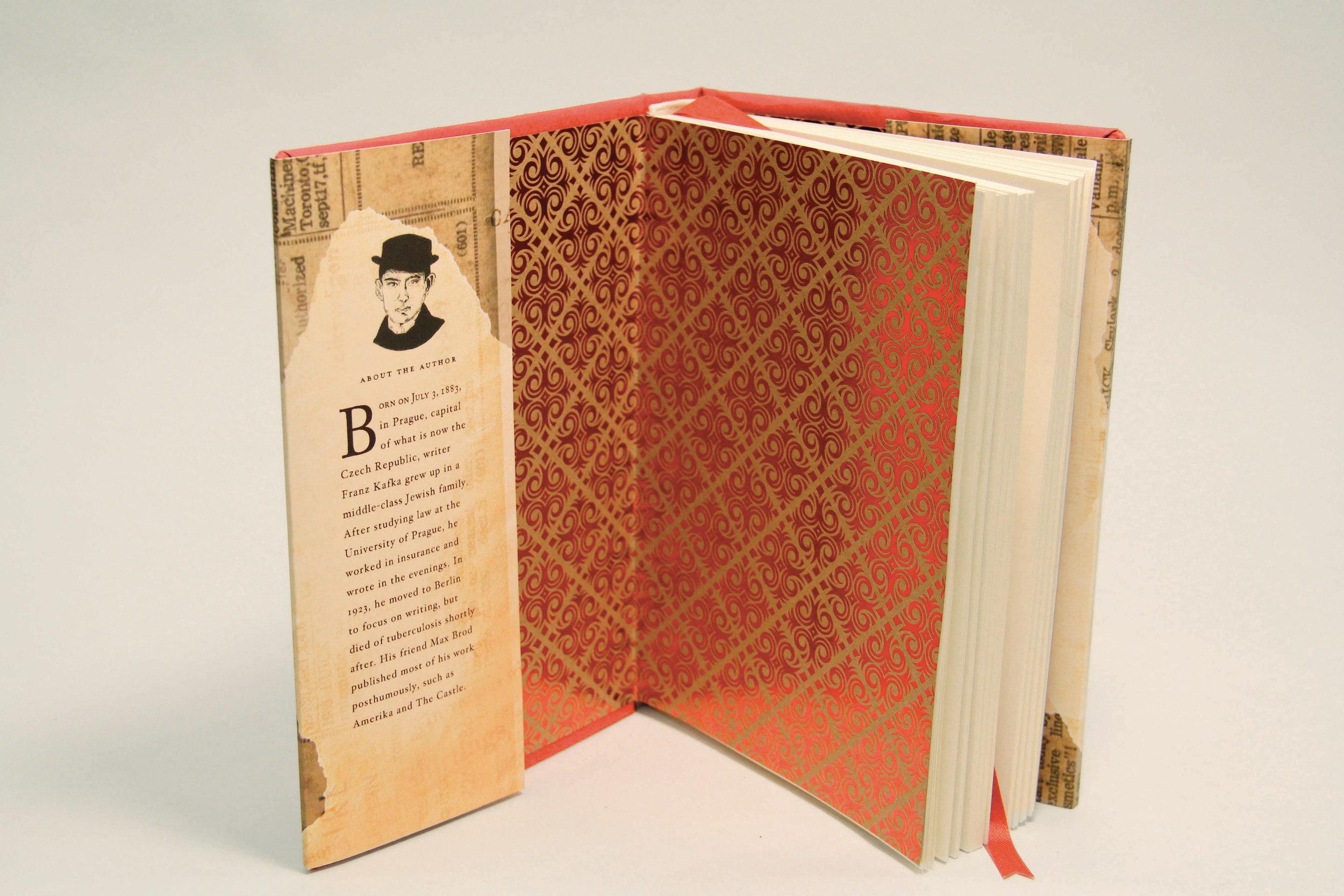 The Metamorphosis book inside cover