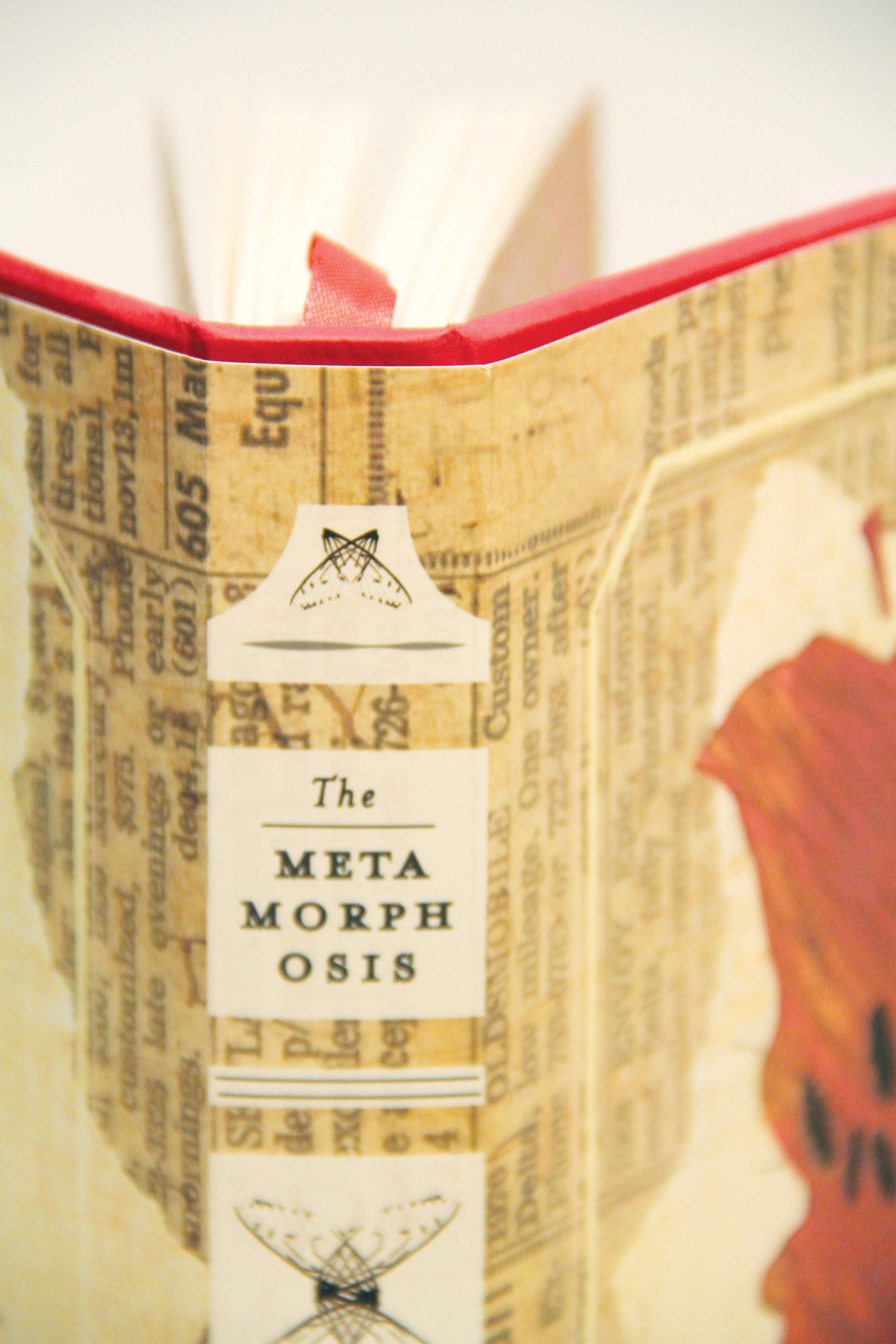 The Metamorphosis side of book cover