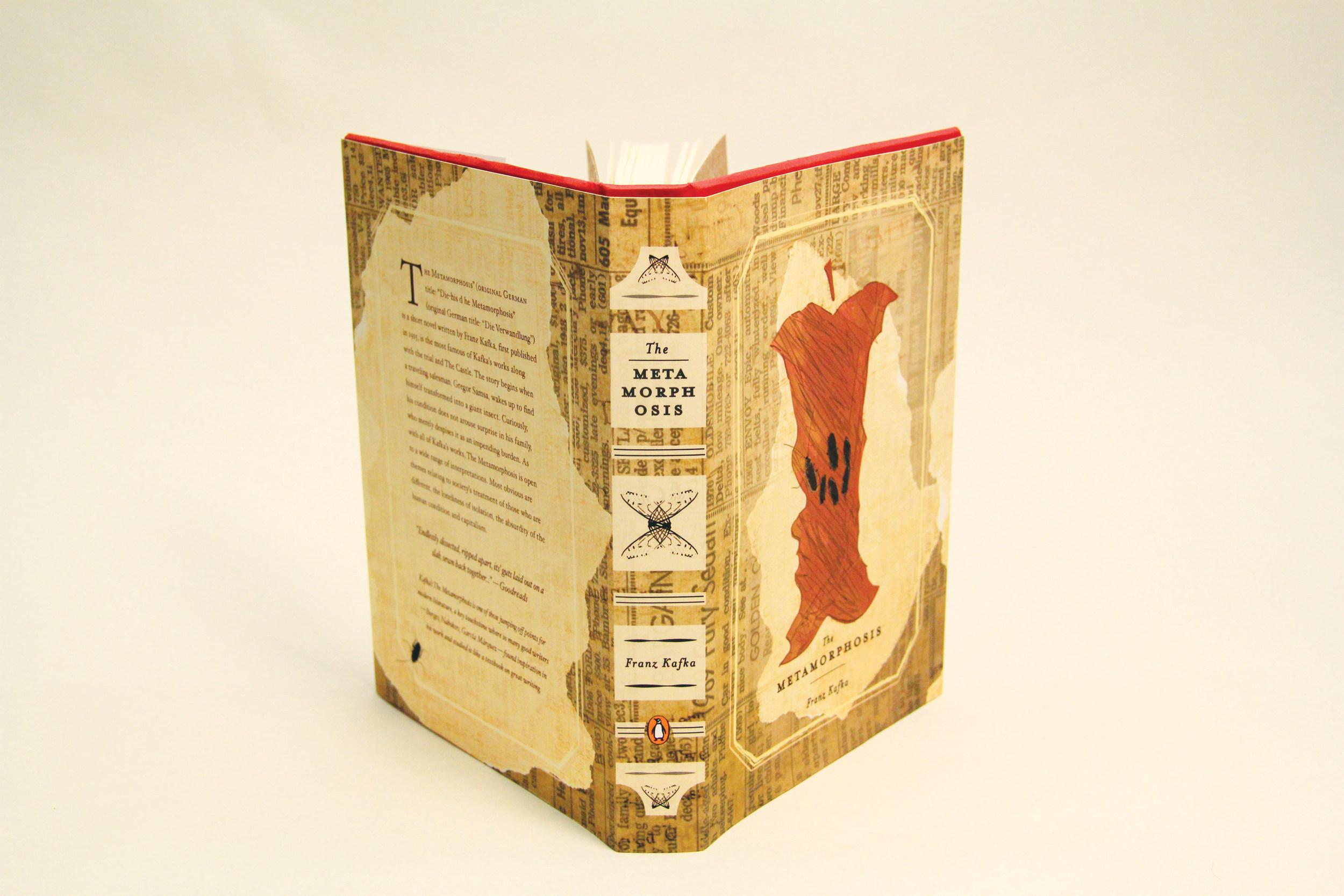 The Metamorphosis book spine