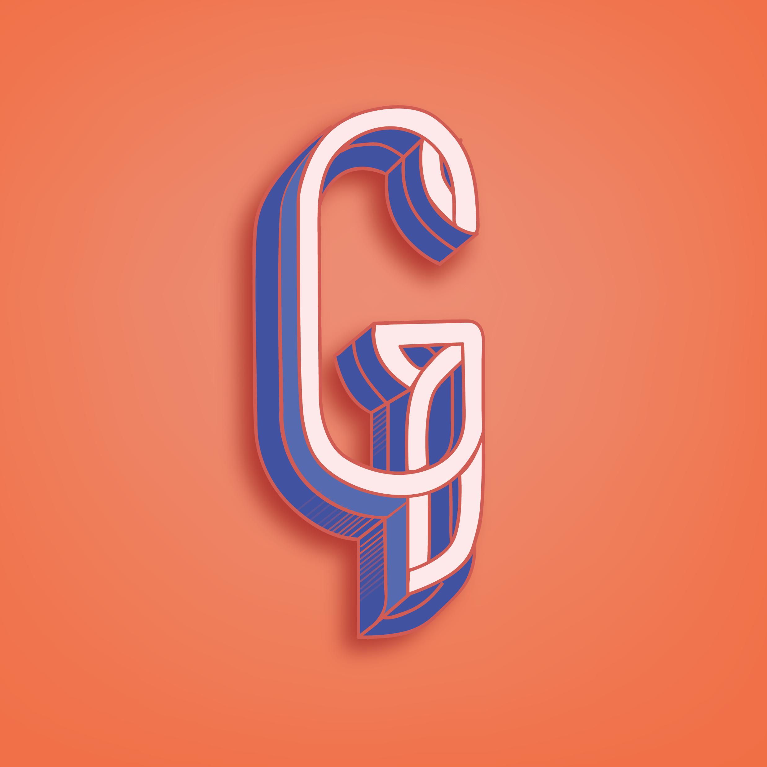 Letter G Design #2