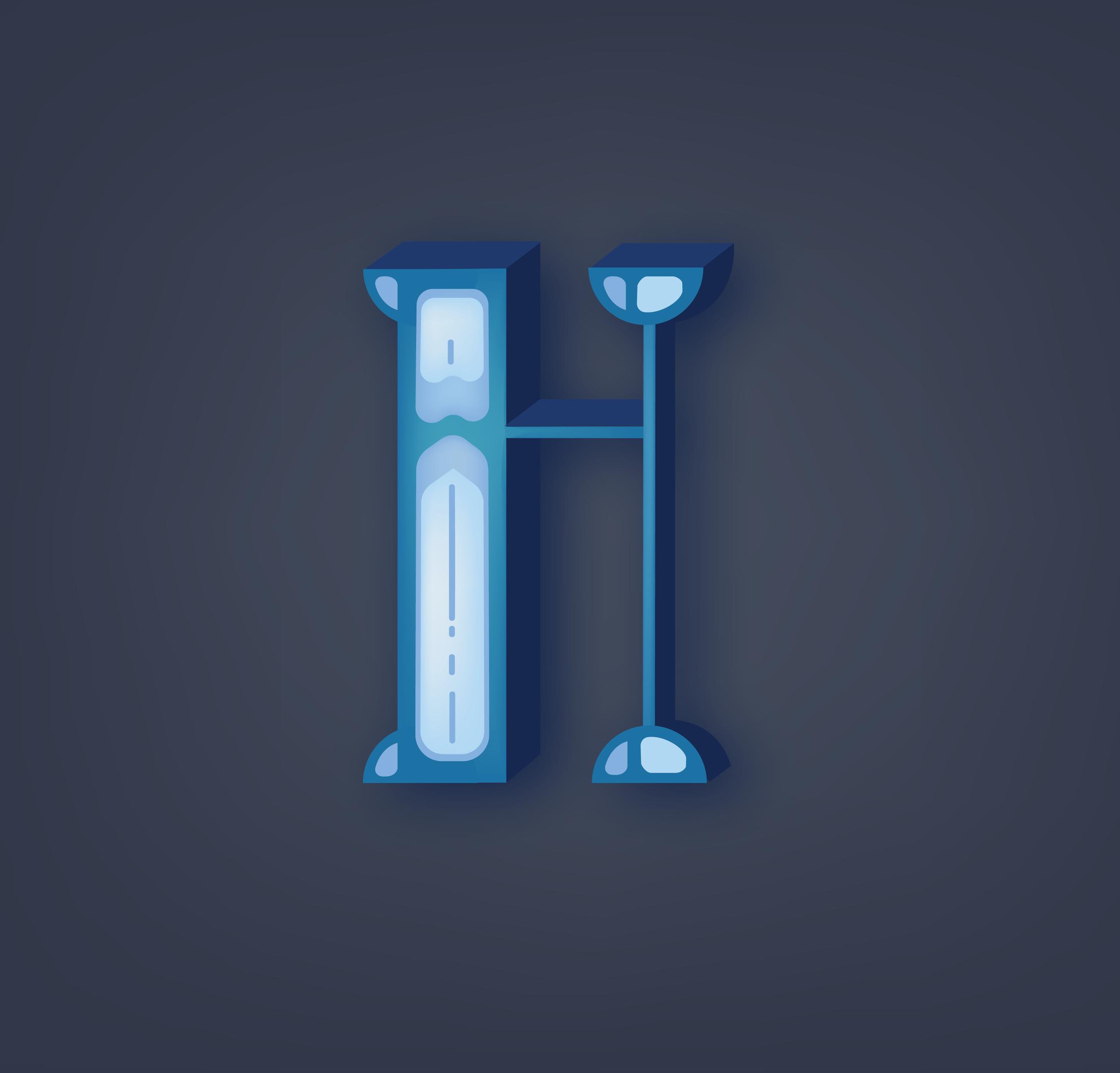 Letter H Design