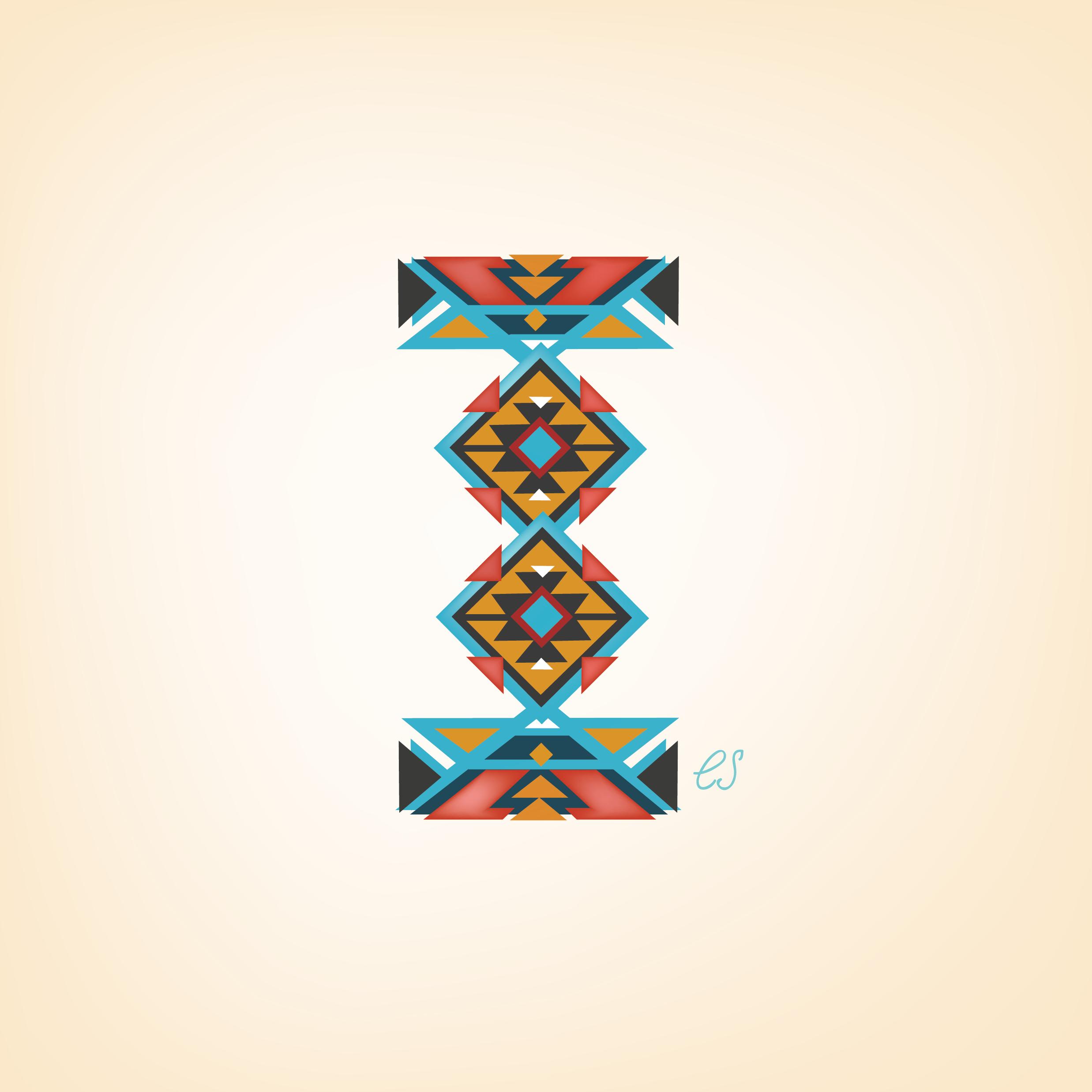 Letter I Design