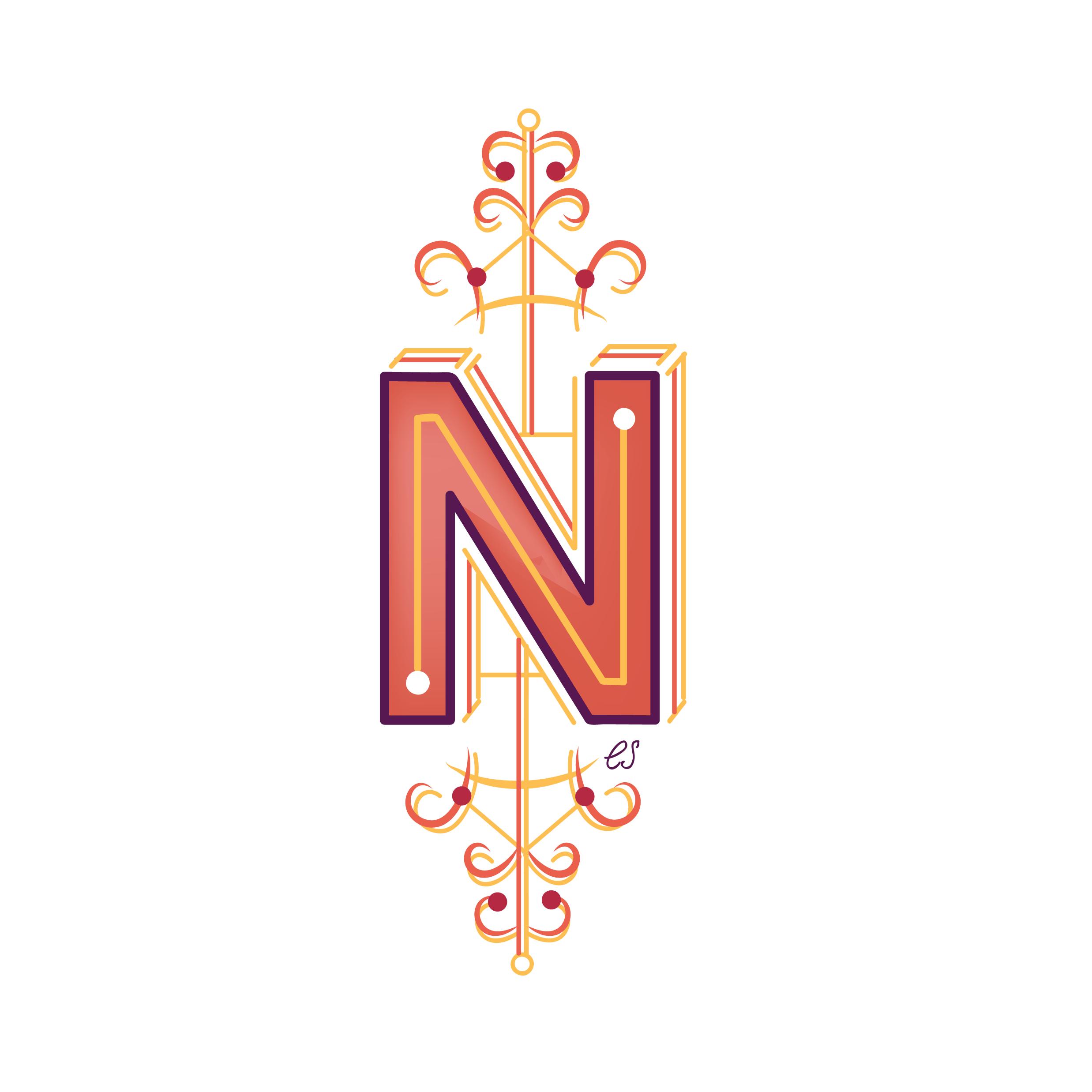 Letter N Design