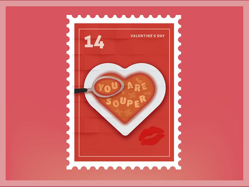 You are Super Valentine Sticker