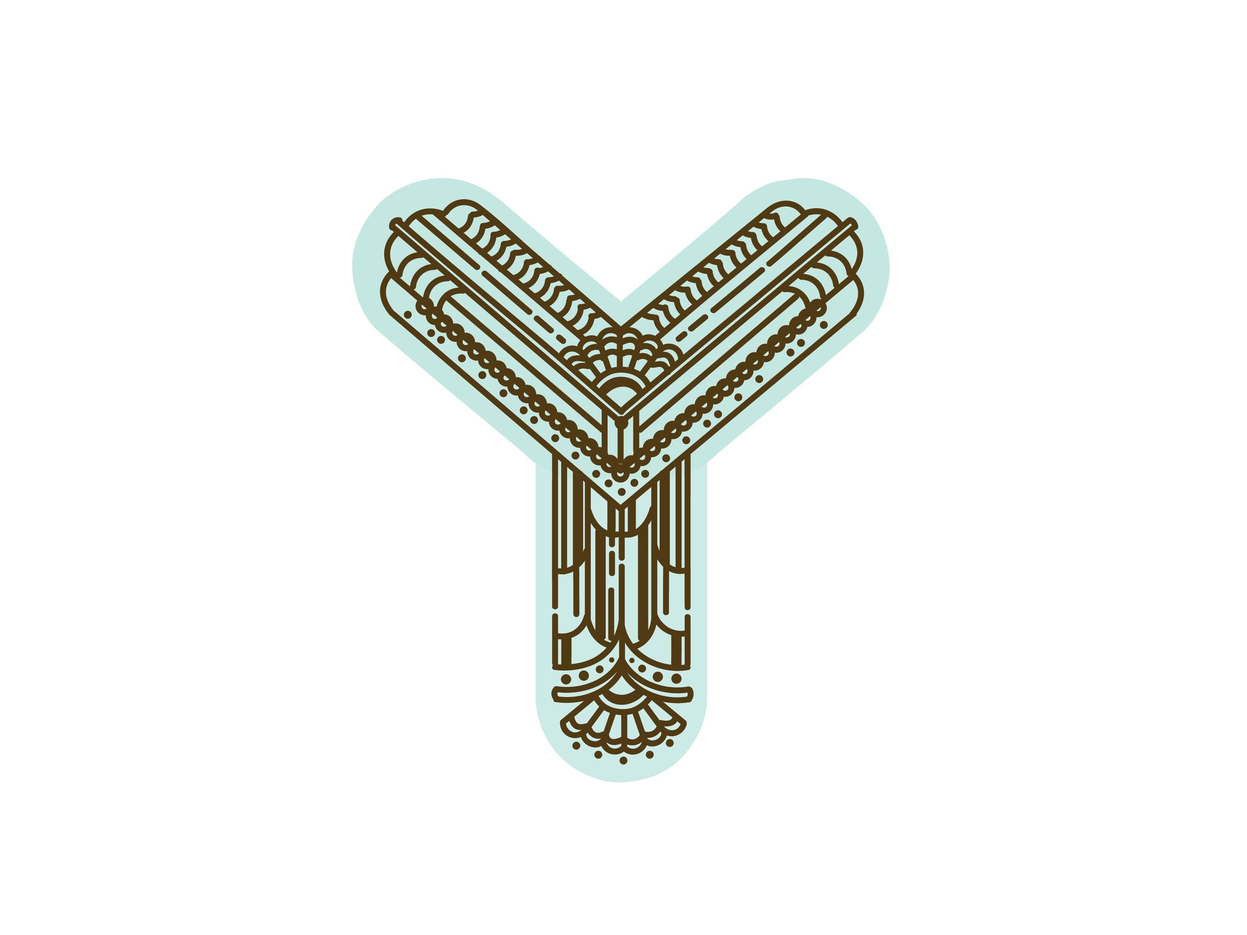 Letter Y Design #2