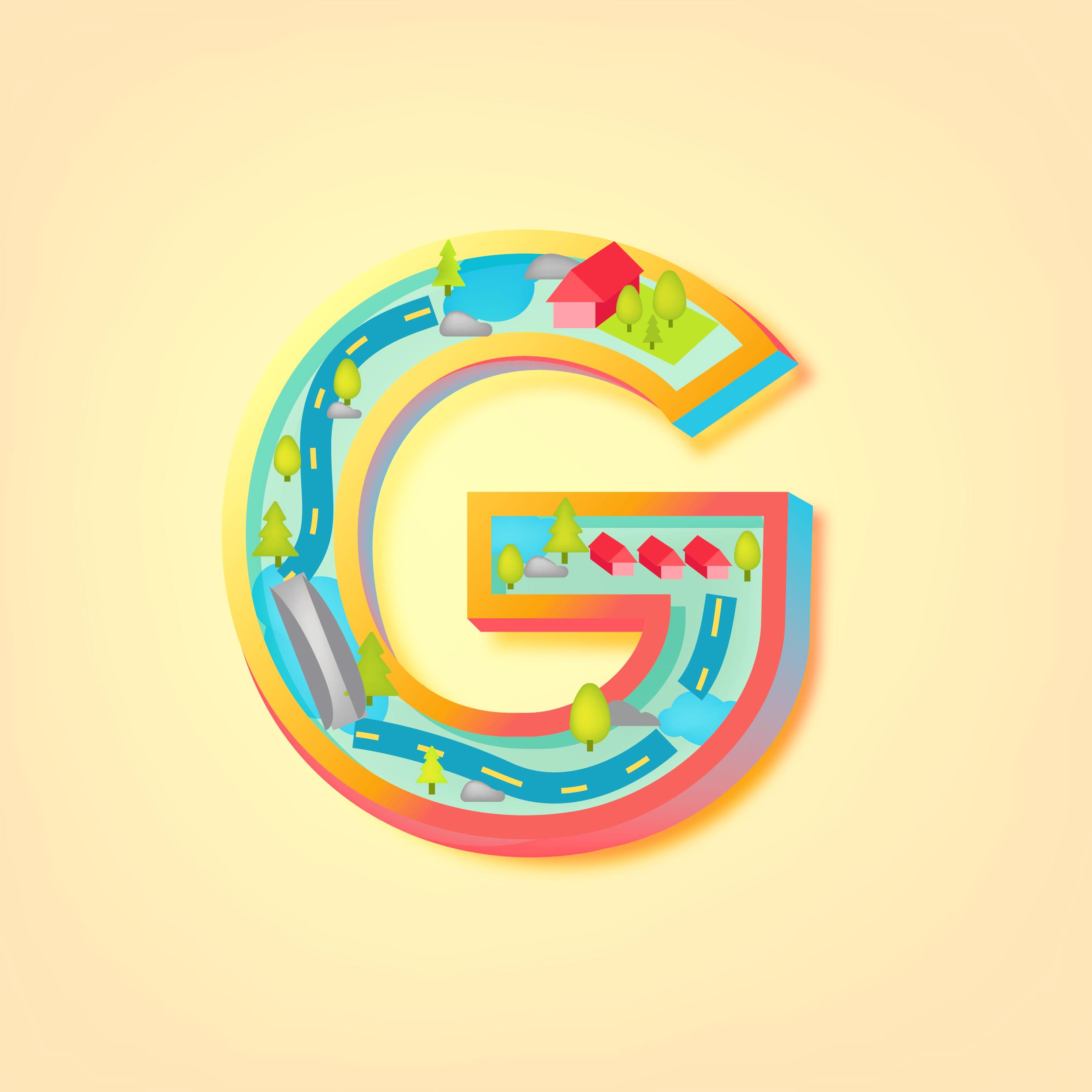 Letter G Design