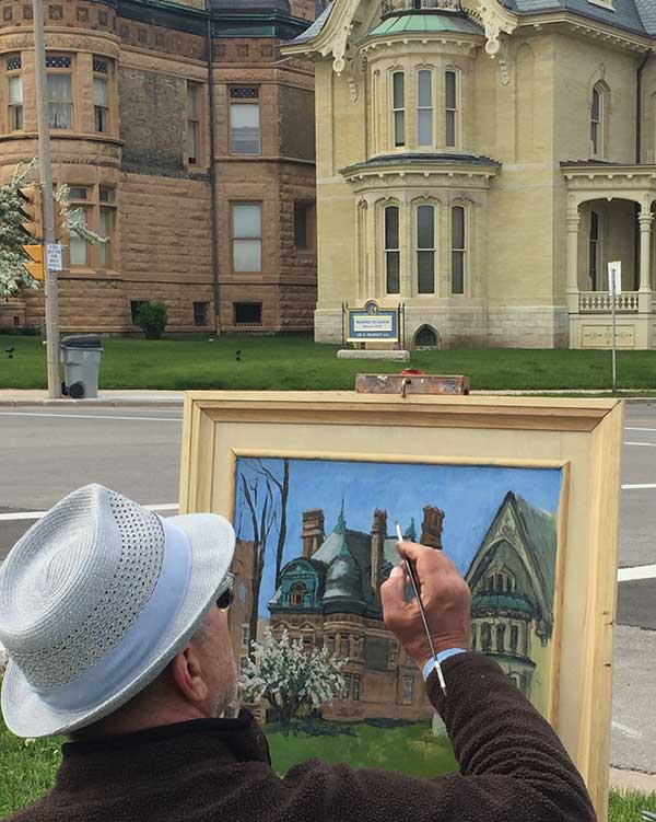 PLEIN AIR ARTISTS ACROSS HISTORIC CONCORDIA
