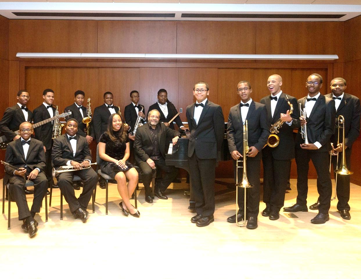 FAME Jazz Band, Washington, D.C. Photographer Gwen Flowers