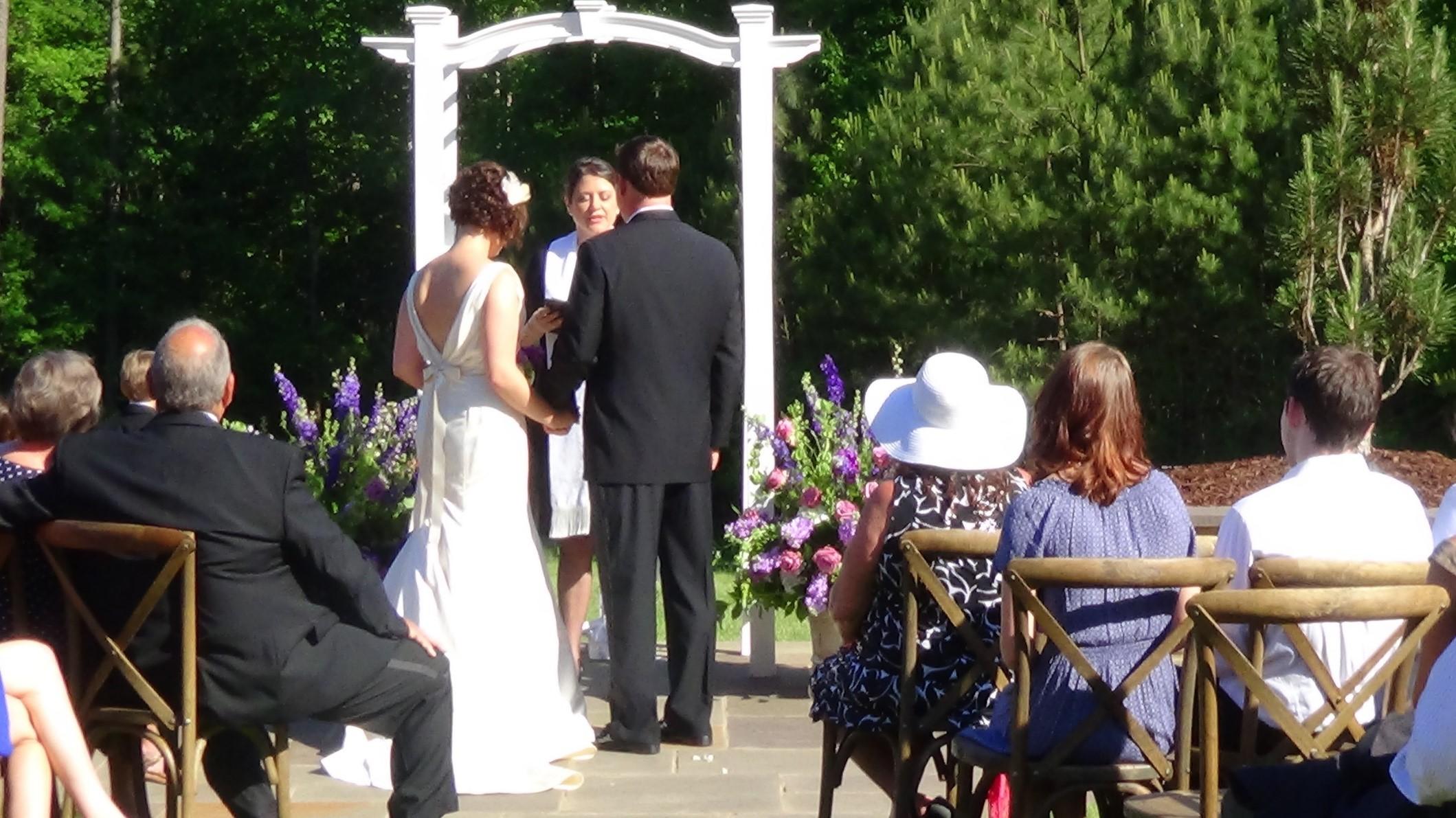 A bilingual wedding ceremony