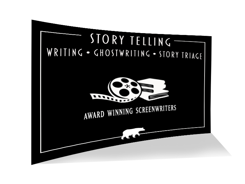 Story telling, writing, ghostwriting, story triage