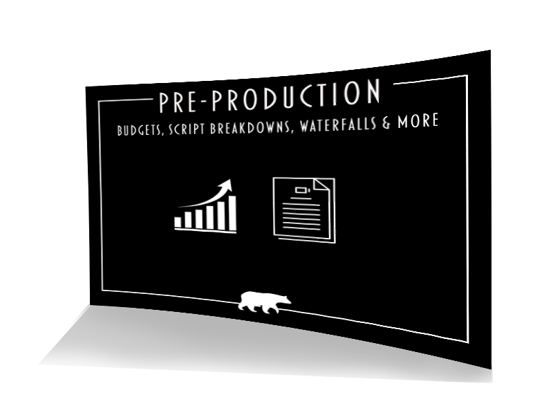 Pre-production service, budget, script breakdown, waterfall and more