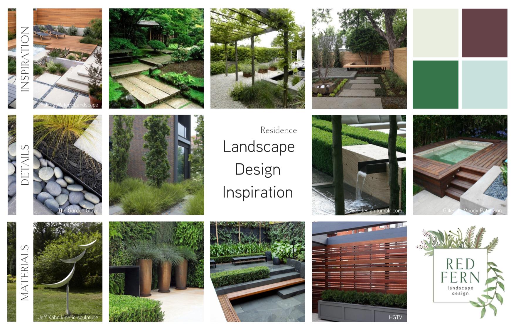 The Red Fern Landscape Design Process Phase 2 Redfernlandscape Com