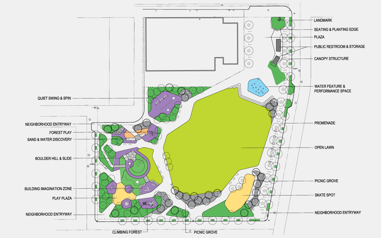Site plan, courtesy of PLACE