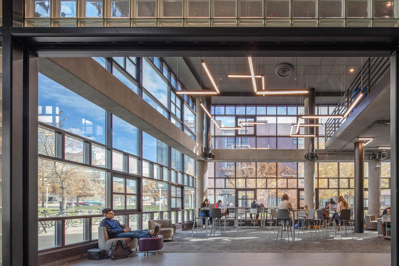 University of Colorado Denver Atrium — Integrated Lighting and ...