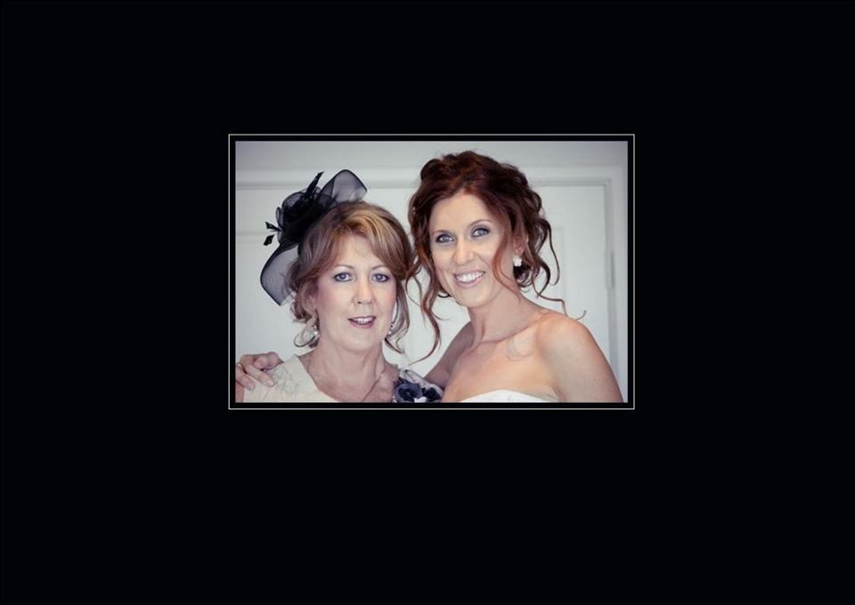 Mum and I on my Wedding day - April 2011.
