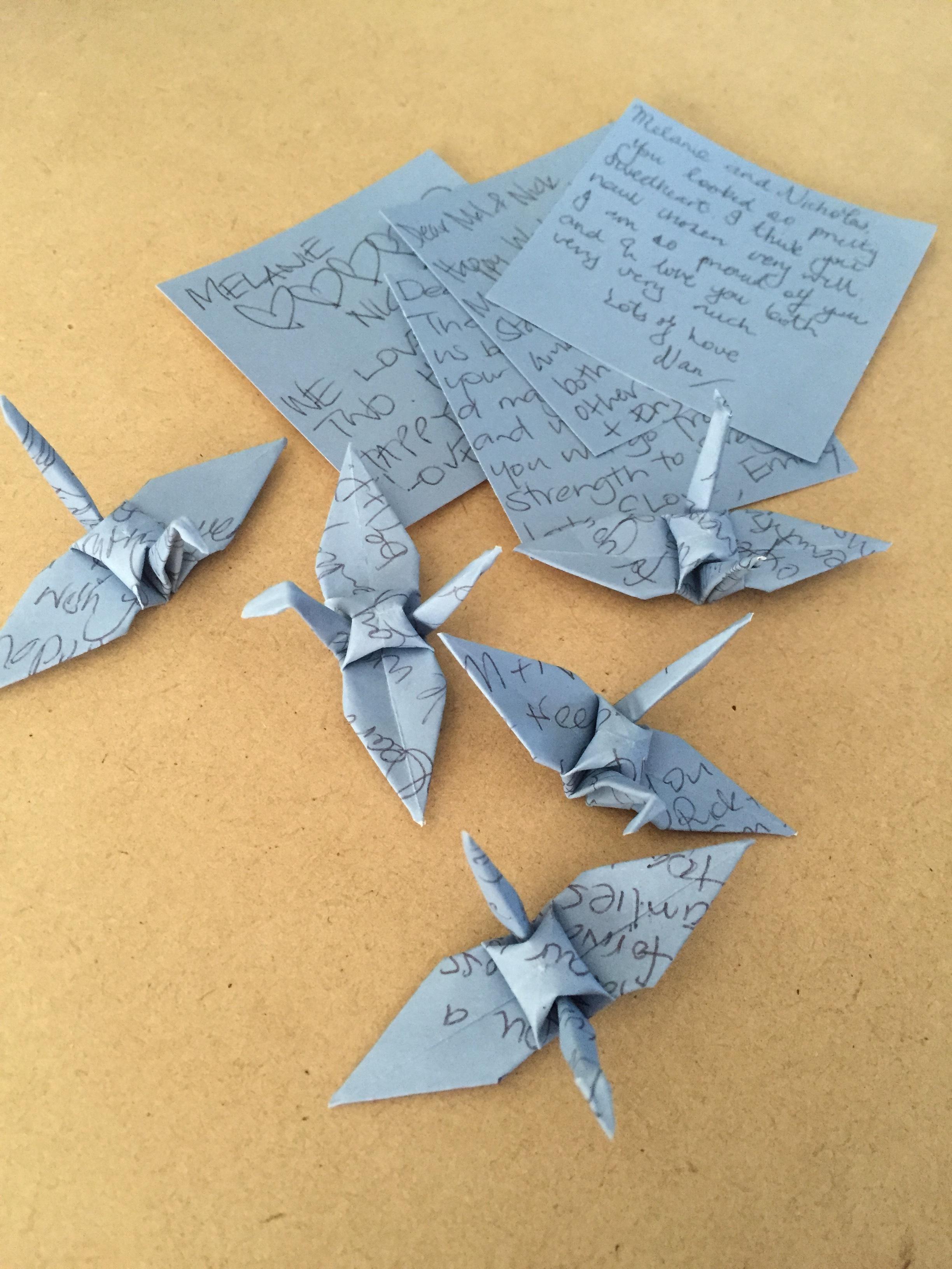 handwritten well wishes