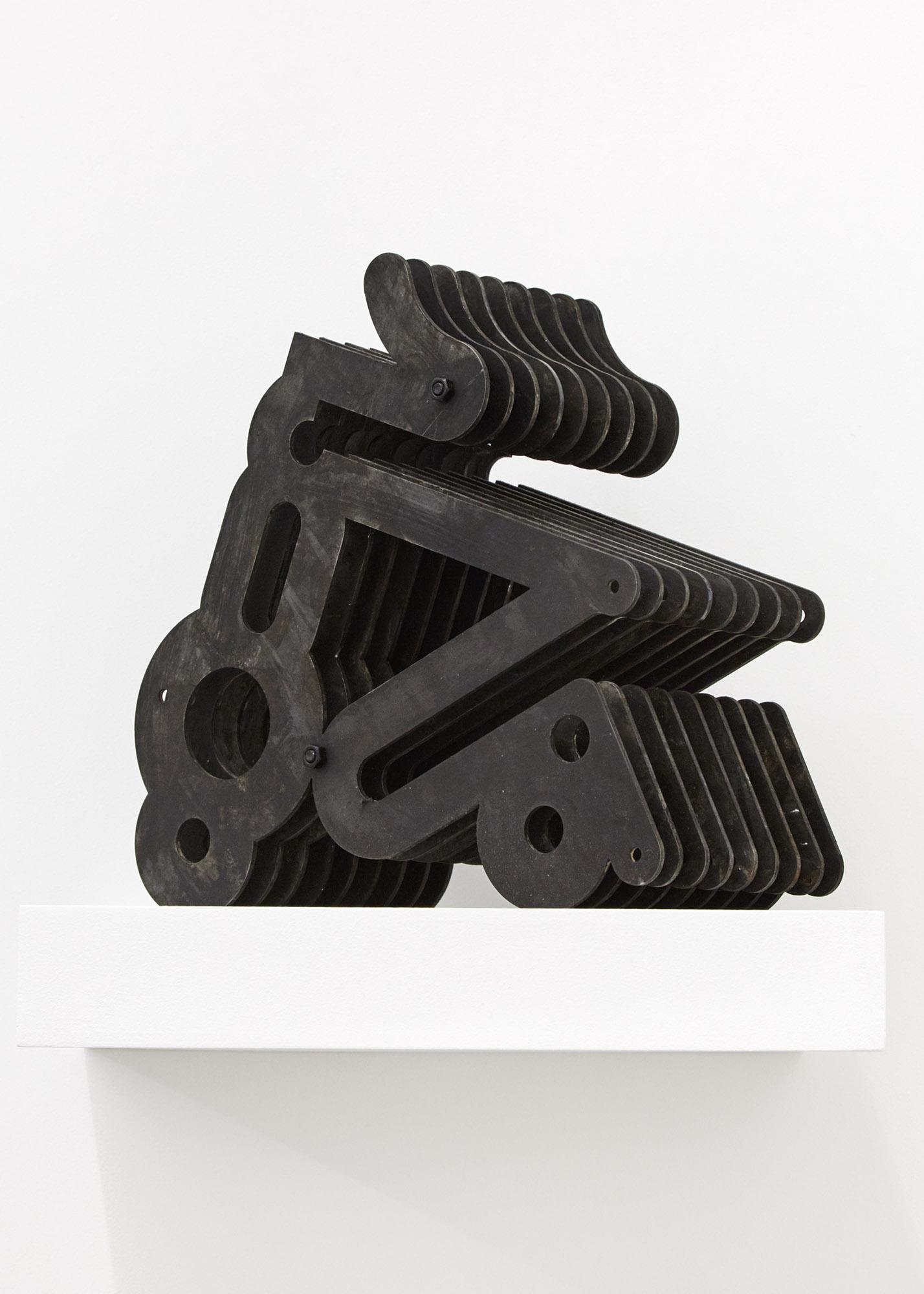 Array Object #3 Lasercut steel 35 x 30 x 18cm, 2019