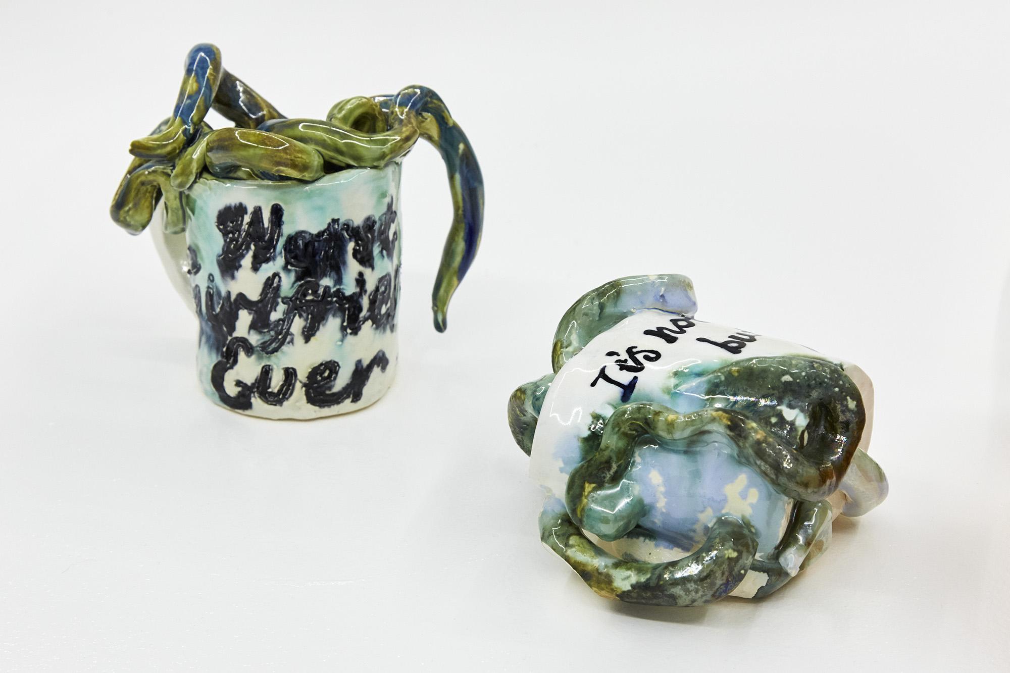 Worst Girlfriend Ever Glazed Ceramic 13 x 15 x 10cm, 2019
